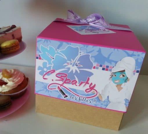 Box beauté, atelier beauté, anniversaire ado fille, box ado, anniversaire fille, atelier manucure