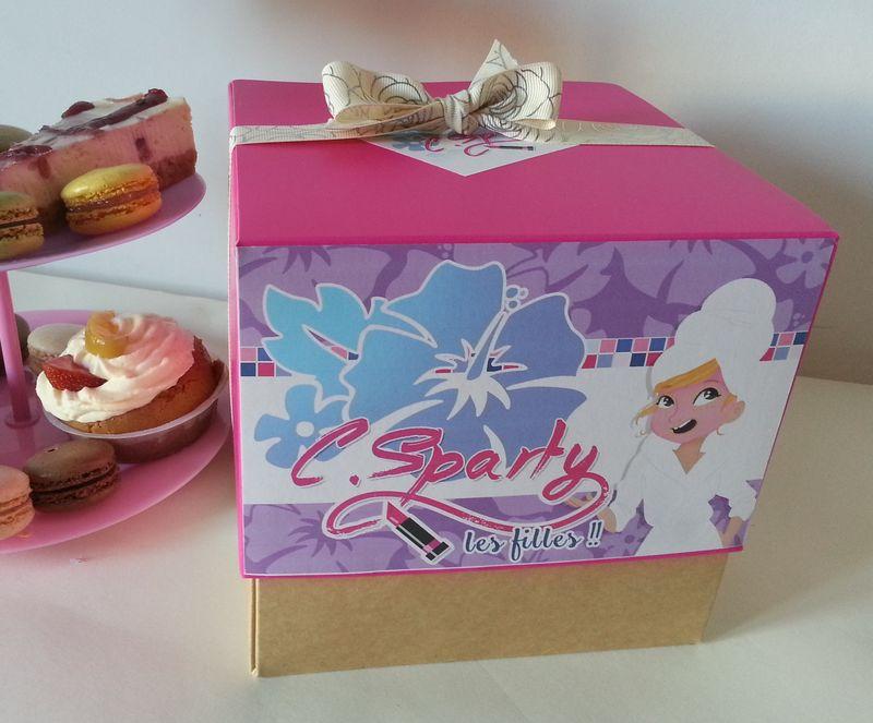 Box Pitchounes pour Spa Party
