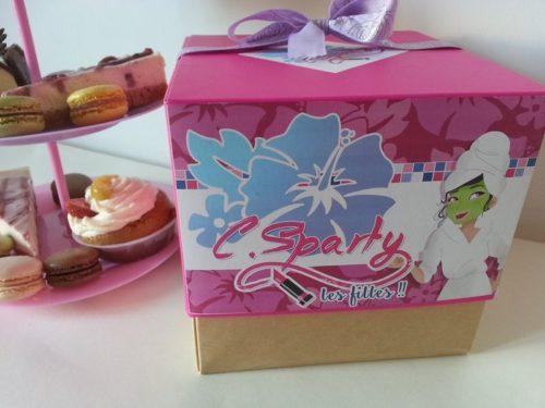 Box beauté Femmes C.SPARTY