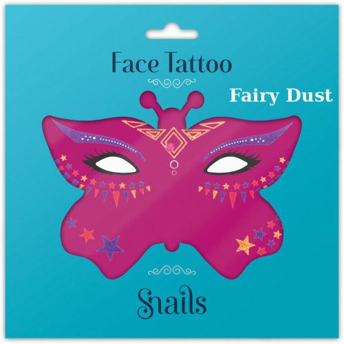 masque Tattoo, craies pour cheveux, mini vernis enfants