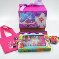 Box anniversaire Spa Party sacs cadeaux C Sparty